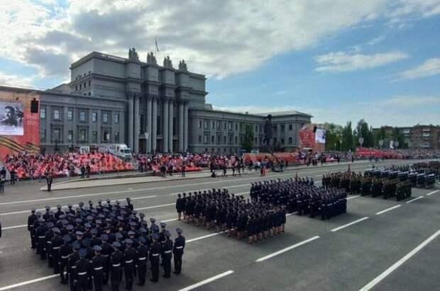 В Самарской области прошел военный парад в честь Дня Победы