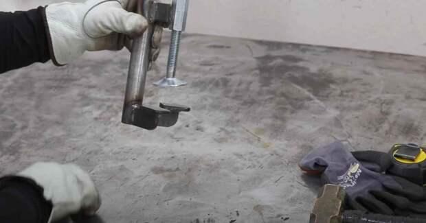 Самодельная струбцина улучшенная: рассказываем как изготовить своими руками
