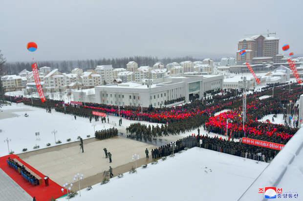 Ким Чен Ын открыл город-«утопию» в КНДР