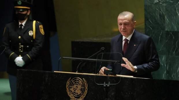 Эрдоган на площадке ООН заявил, что Турция не признает российский Крым