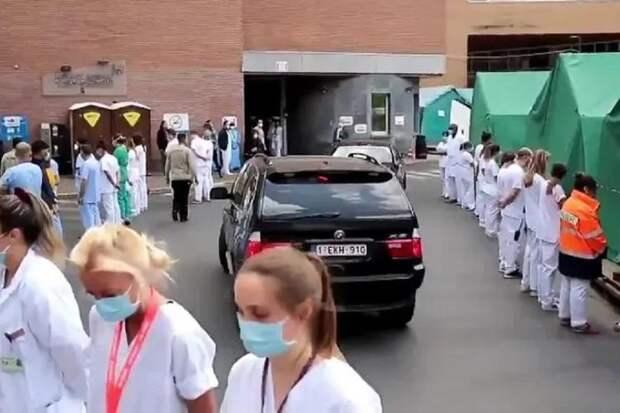 Лайфхак от бельгийских медиков: «коридор позора» для премьер-министра