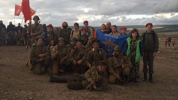 Ялтинцы приняли участие в VIII Крымском военно-историческом фестивале