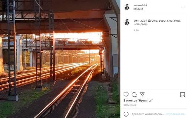 Фото дня: станция Ховрино расплавилась на солнце