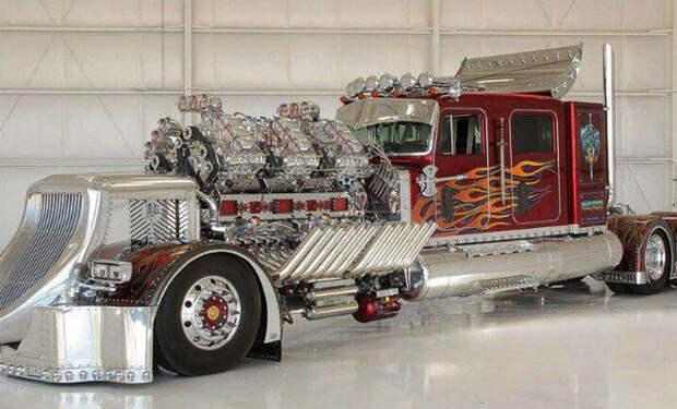 Мотор на 28 литров: смотрим самый дорогой тягач в мире