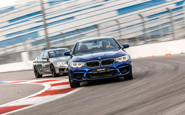 BMW M5 — первый тест-драйв