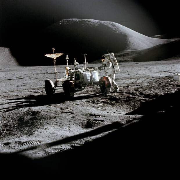 Apollo 15 and the Lunar Roving Vehicle