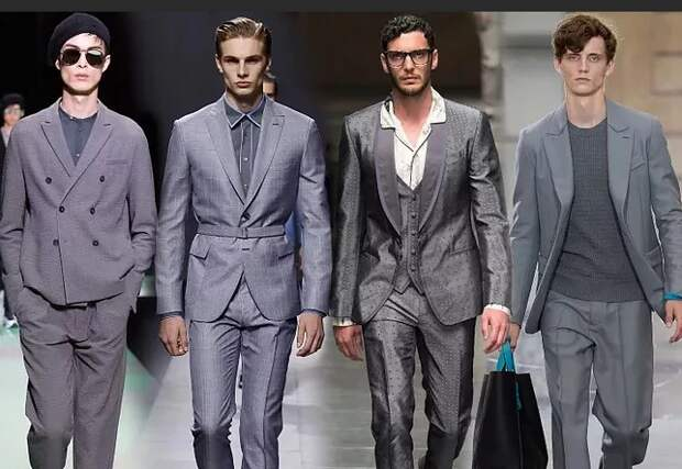 Мужской деловой костюм: модные тенденции