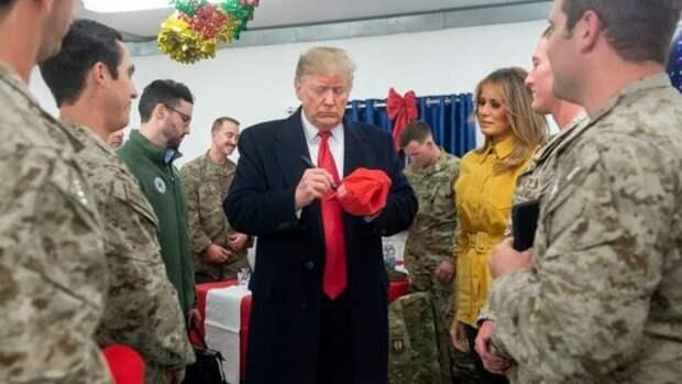 Зачем Трамп разъезжает по военным базам?