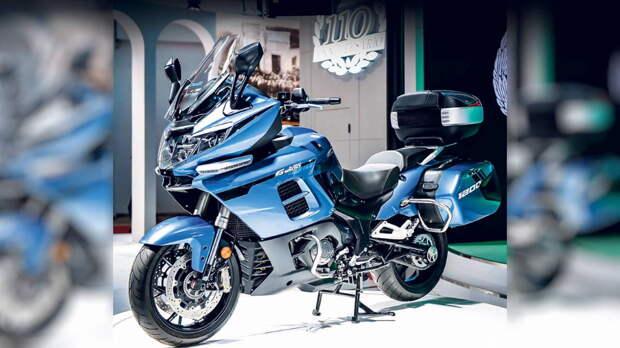 Benelli 1200GT стал самым большим китайским серийным мотоциклом
