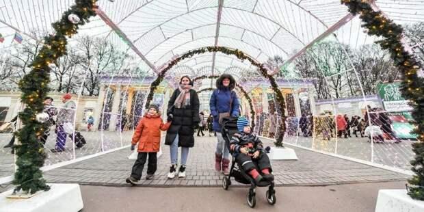Собянин продлил фестиваль «Путешествие в Рождество» до 31 января. Фото: mos.ru