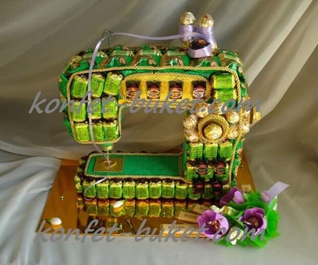 Шоколадные швейные машины