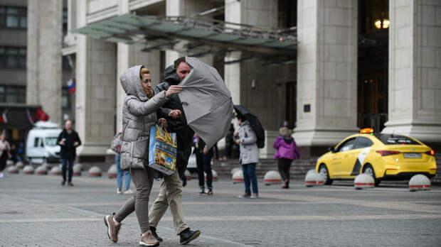 Экстренное предупреждение из‑за усиления ветра объявили в Москве