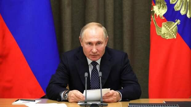 Путин рассказал об устаревшем мышлении НАТО