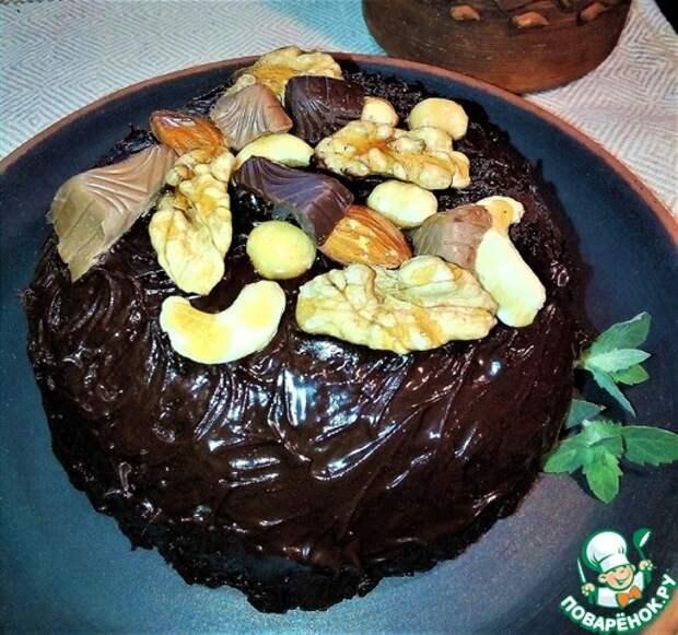 Нью-йoркский шоколадно-ореховый тортик
