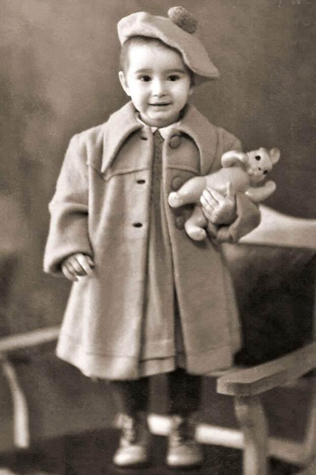 Додо Чоговадзе в детстве. / Фото: www.kioskplus.ru