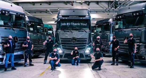 Mercedes Actros Edition 2 — премиальный вариант грузового авто