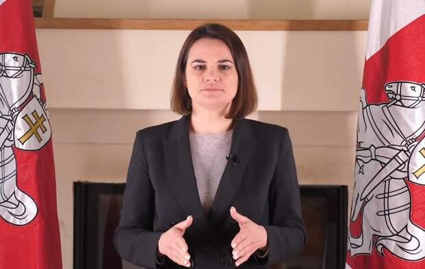 Тихановская призвала США ввести дополнительные санкции против Белоруссии