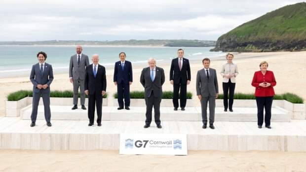 """Посольство КНР в Британии выразило протест участникам саммита """"Большой семерки"""""""