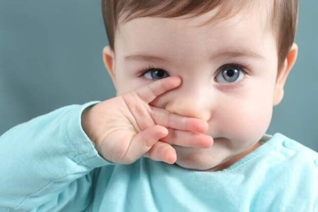Лечим насморк у ребенка