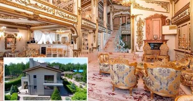 Роскошный позолоченный дворец продают за смешные деньги. Правда есть одно «но»