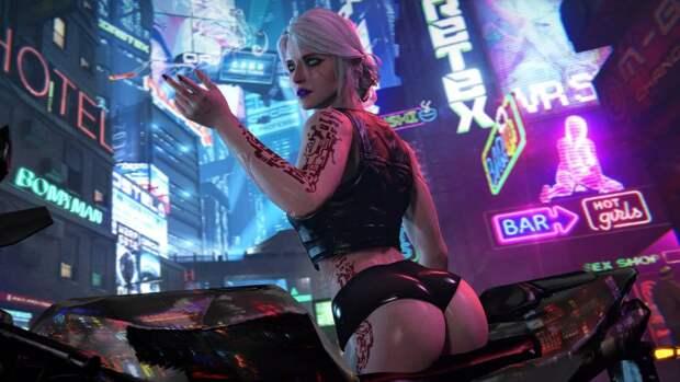 В игре Cyberpunk 2077 вернули бег по стенам