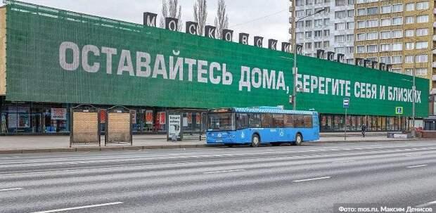 Собянин возобновил меры поддержки для соблюдающих домашний режим москвичей. Фото: М. Денисов mos.ru