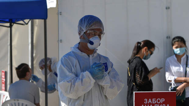 Число случаев коронавируса в Казахстане превысило 261 тысячу