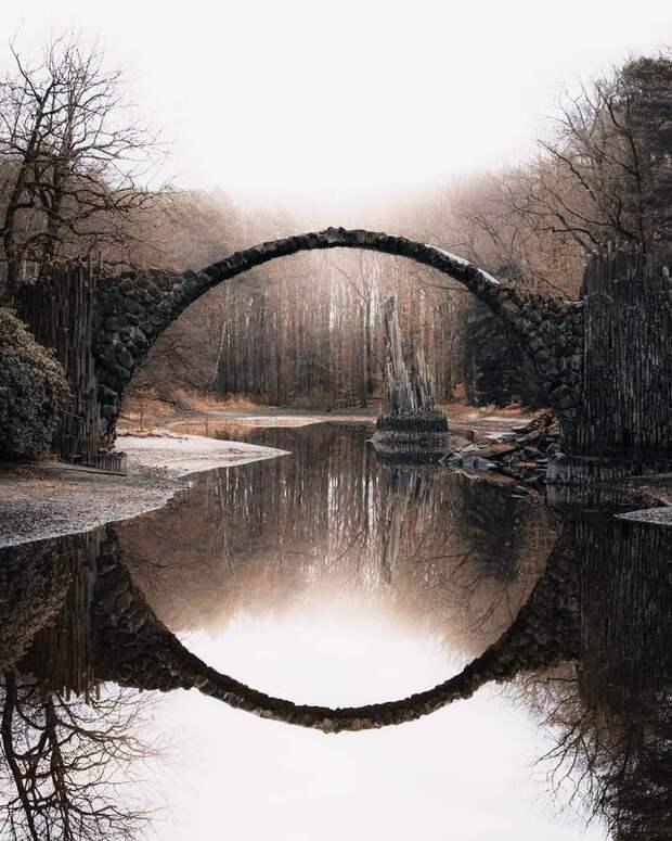 Мистический мост Ракотцбрюке, который построил дьявол