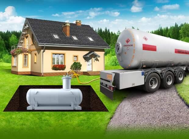 Самое важное о заправке газгольдера