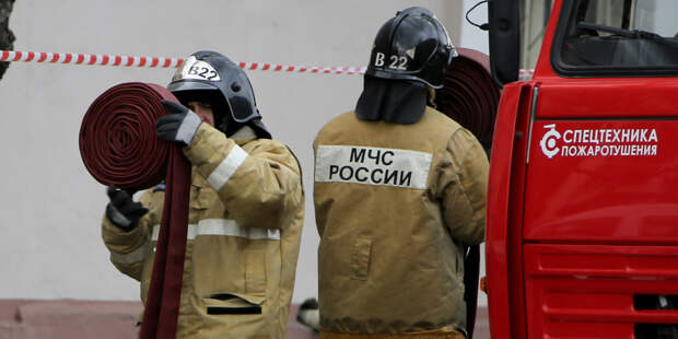 В Ростове-на-Дону на ходу загорелся городской автобус