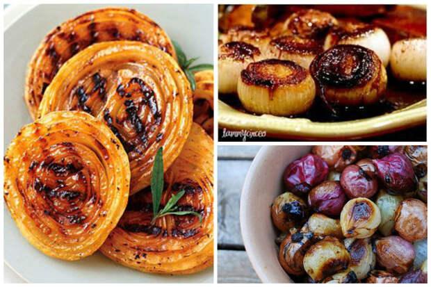 Лук на гриле - простор для фантазии - обмажьте лук любимым соусом и на огонь его интересное, кухня, лук, рецепты, факты