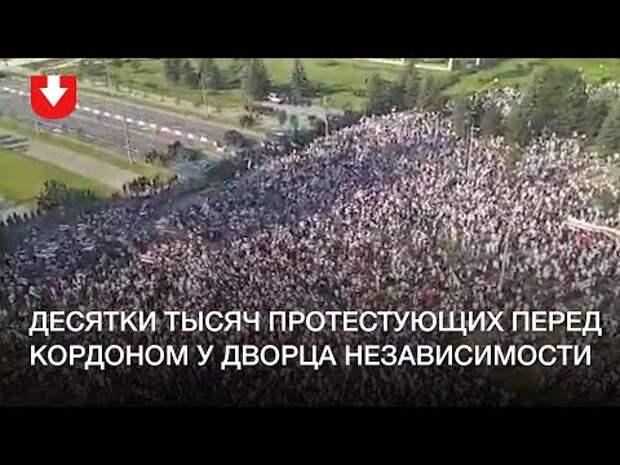 Лукашенко - 60 лет. Оппозиция вывела на улицы тысячи человек