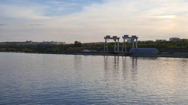 Бывший грузовой порт Волгограда