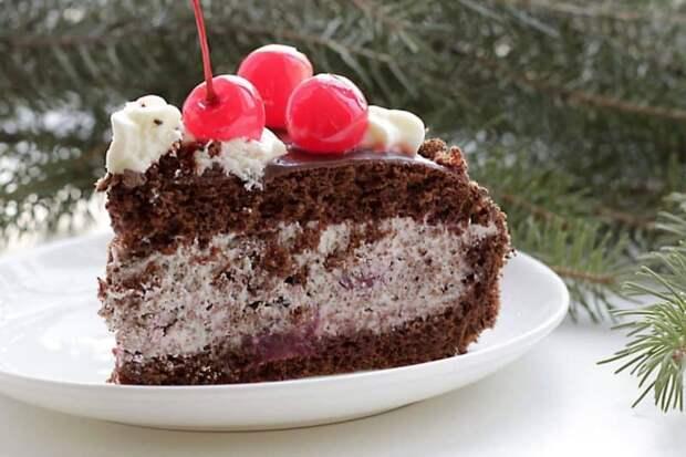 Торт Пьяная вишня. Рецепт, о котором невозможно молчать 2