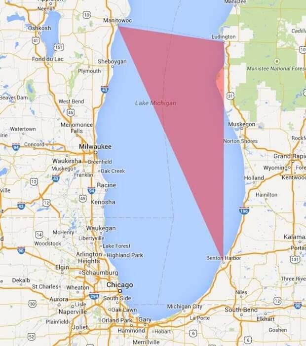 Что происходило в аномальной зоне Мичиганского треугольника