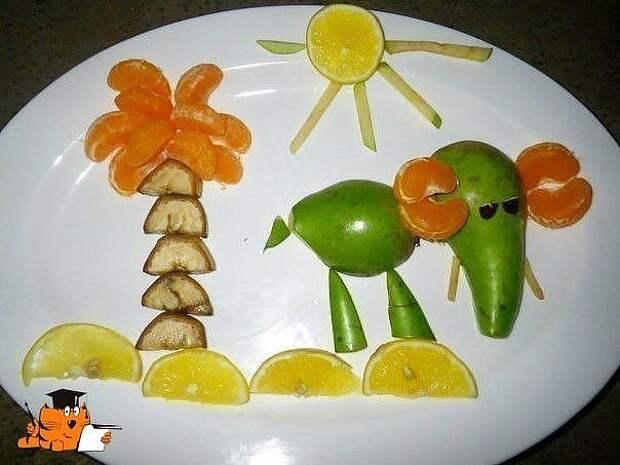 Оформляем детские блюда) Как вам идеи?