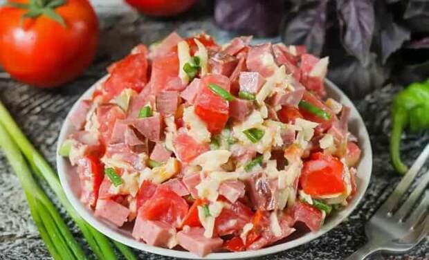 Пикантный салат Мексика