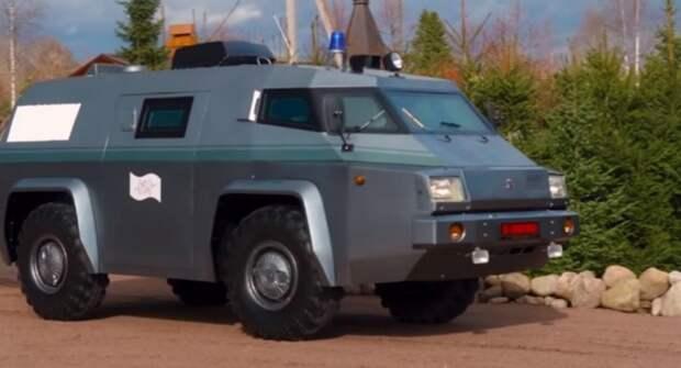 ГАЗ-3934 «Сиам»: Внедорожник на базе БТР с необычной внешностью