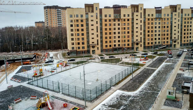 В Подмосковье растет качество сдаваемого в эксплуатацию жилья