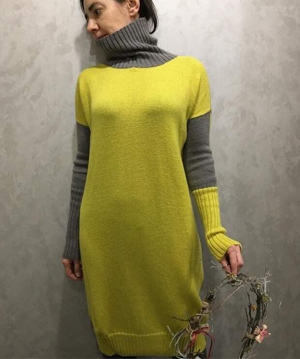 Как создать модный этой зимой колор-блок лук