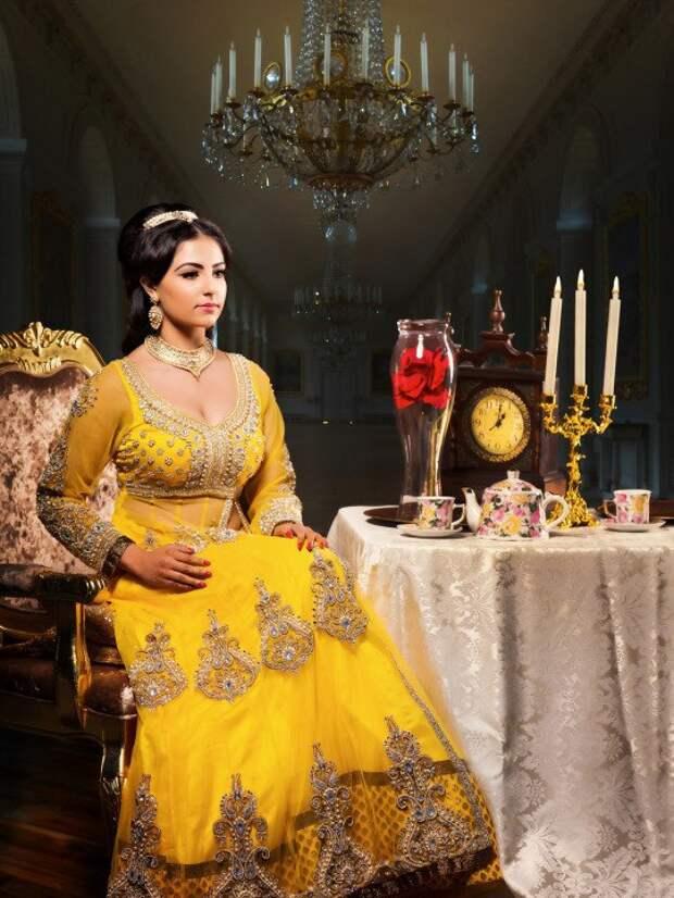 Если бы принцессы Диснея были родом из Индии