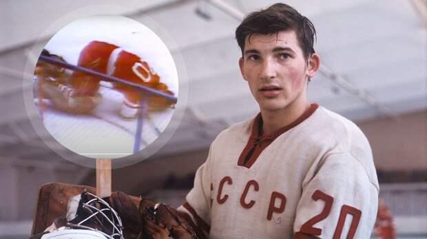 Забытый подвиг Третьяка. Он рухнул на лед после попадания шайбы в голову, но доиграл Суперсерию-72 до конца