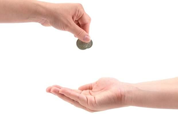 Передавать деньги из рук в руки не рекомендовалось. /Фото: i.pinimg.com