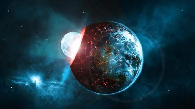 В ранней Солнечной системе находился огромный загадочный объект