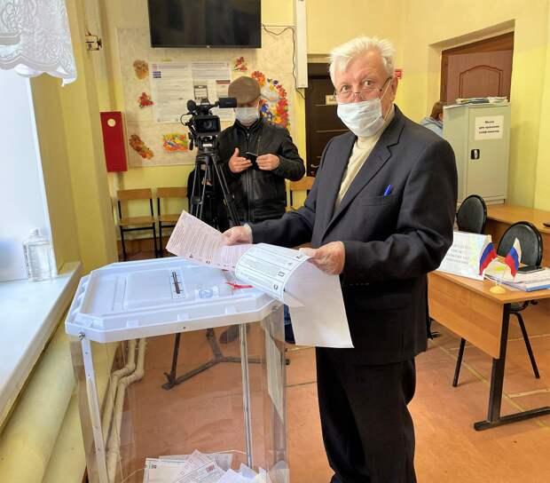 Валерий Румянцев :Проголосовал за лучшую судьбу родного Ржевского района