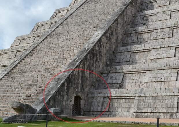 Тайна железной двери пирамиды Кукулькан