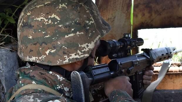 В Азербайджане заявили о нарушении режима прекращения огня со стороны Армении