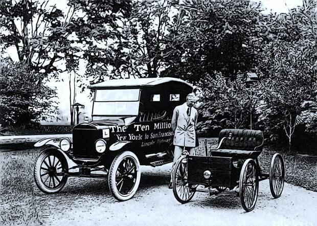 Первые автомобили Генри Форда