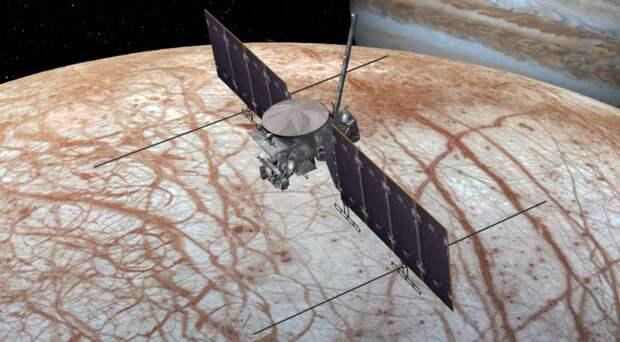 NASA выбрало Falcon Heavy вместо SLS для запуска межпланетной станции к Европе