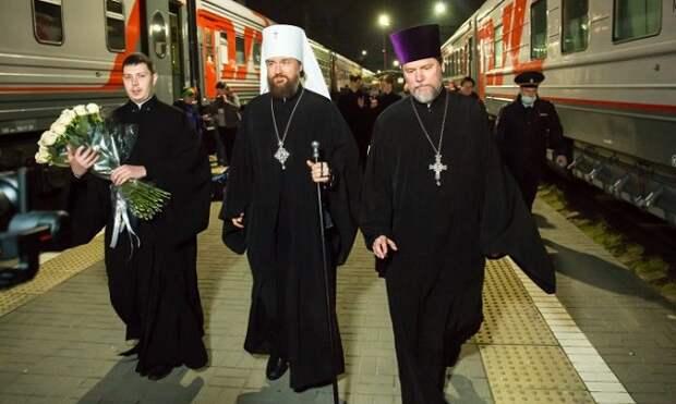 Митрополит Григорий прибыл в Краснодар и проведет первую службу в субботу